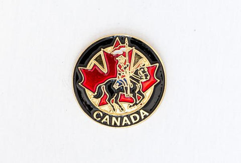 RCMP Round Lapel Pin