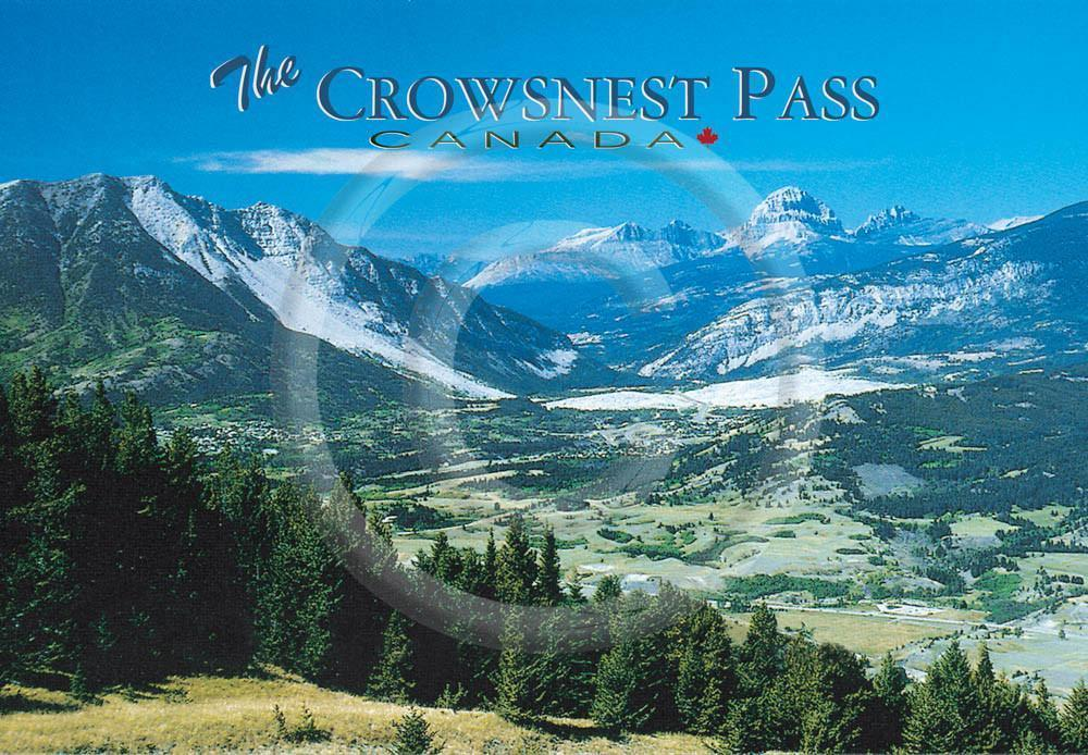 Crowsnest Pass 4x6 Card