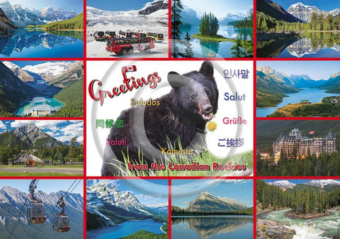 Rockies Multi Greetings 5x7 Card