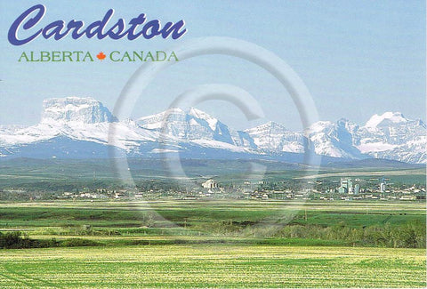 Cardston 4x6 Card