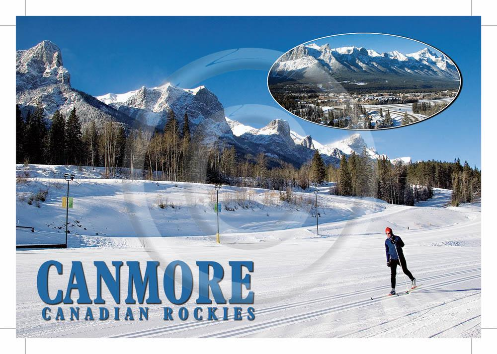 Canmore Winter 4x6 Card