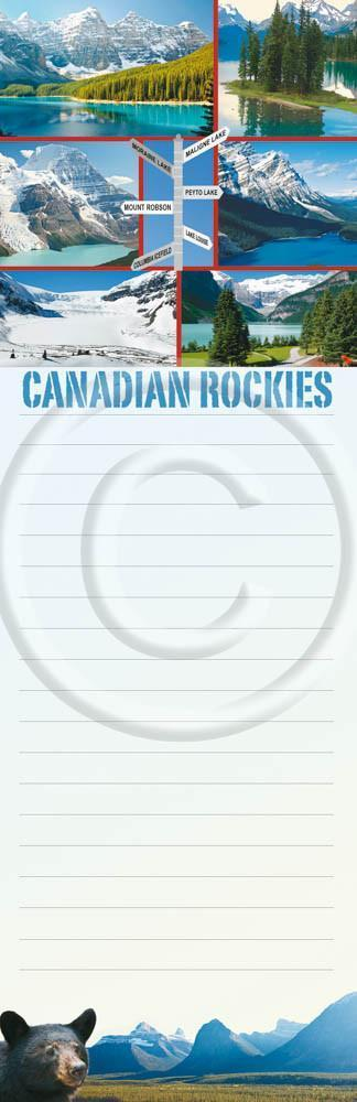 Rockies Signposts Notepad