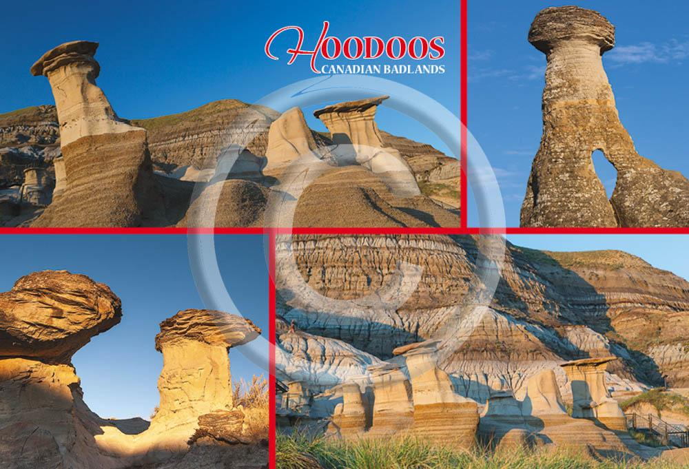 Hoodoos Multi 4x6 Card