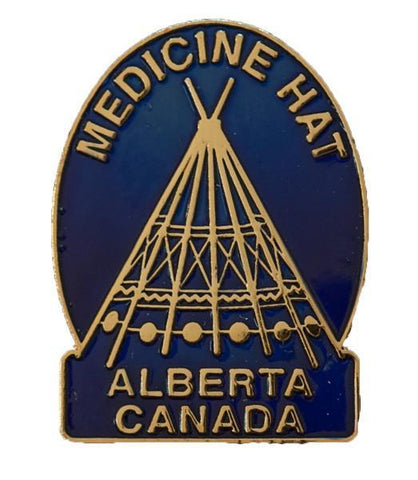 Medicine Hat Lapel Pin