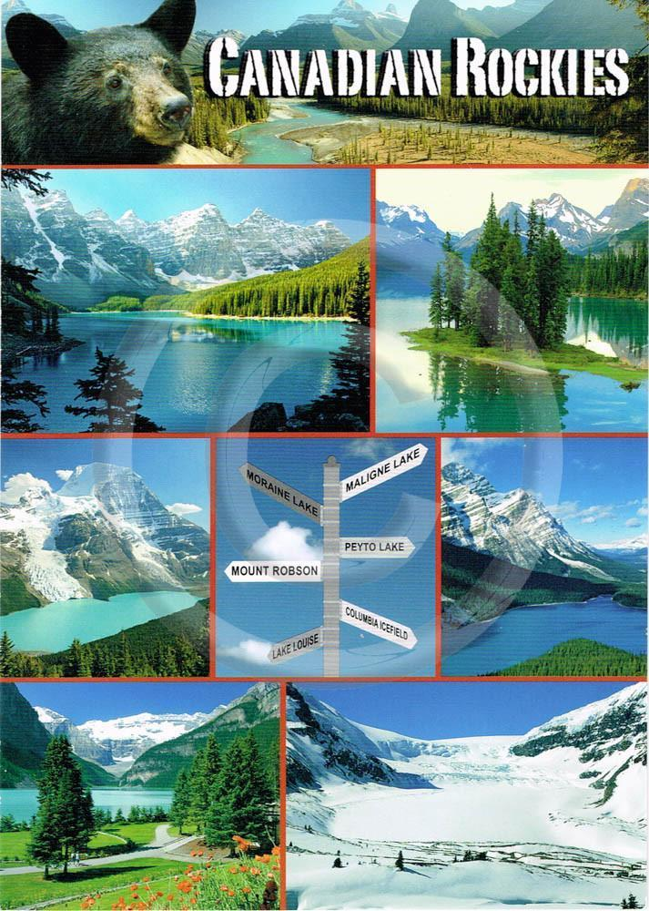 Rockies Signpost 5x7 Card