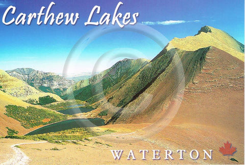 Waterton Carthew Lakes 4x6 Card