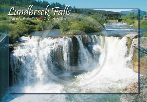 Lundbreck Falls 4x6 Card