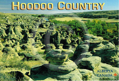 Hoodoo Country 4x6 Card