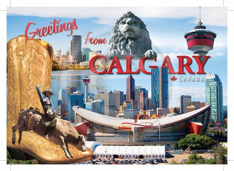 Calgary Multi-Greetings 5x7 Card