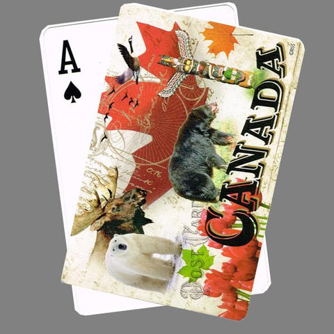 Canada Nature Playing Cards