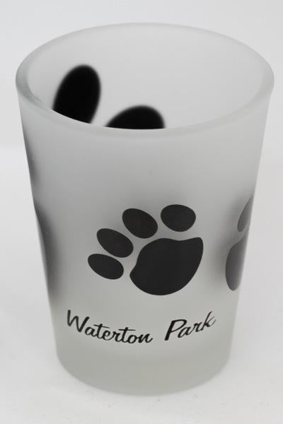 Waterton Bear Paw Shot Glass
