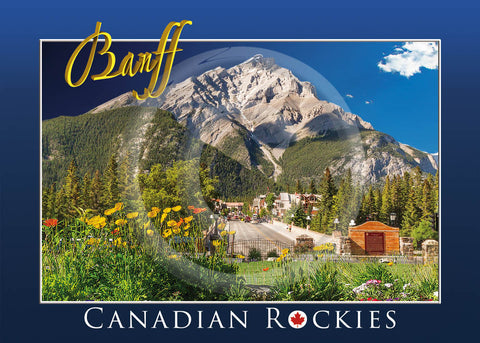 Banff Avenue 5x7 Card