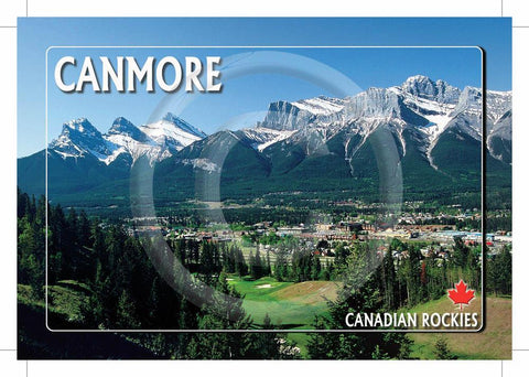 Canmore Rockies 5x7 Card