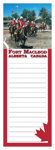 Fort Macleod Notepad