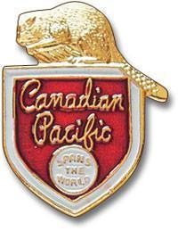 Canadian-Pacific Lapel Pin