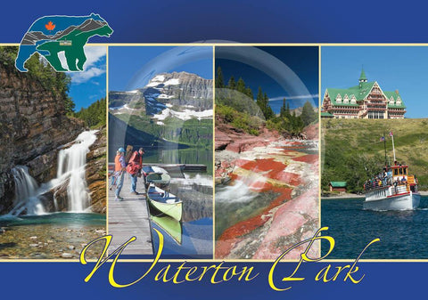 Waterton Multi 5x7 Card