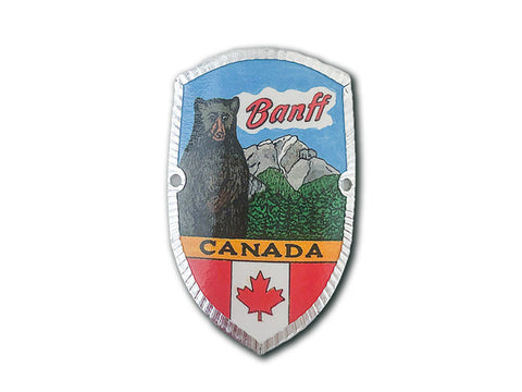 Banff Bear Hike & Bike Medallion