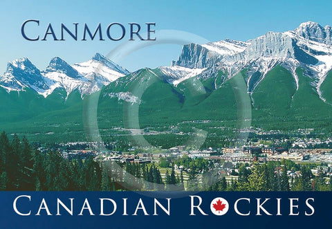 Canmore Metal Magnet