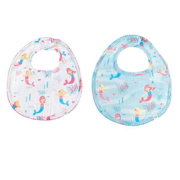 Mermaid Bibs & Silicone Spoon