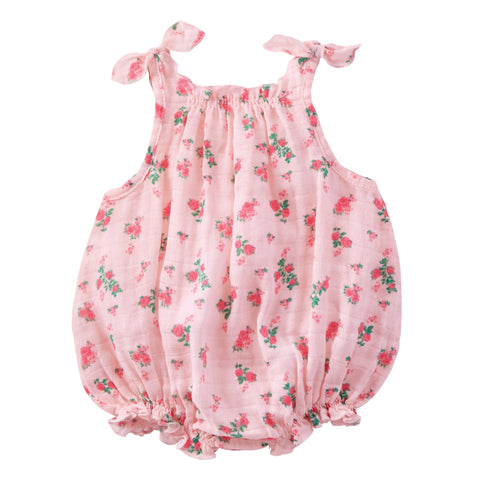 Adorable Muslin Baby Bubble Outfit