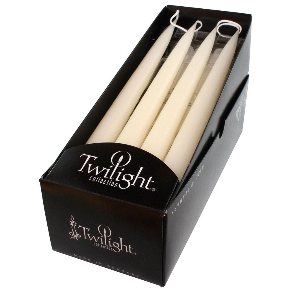 "Candles - Taper 12"" Off White"
