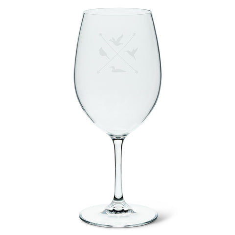 Acrylic Wine Glass