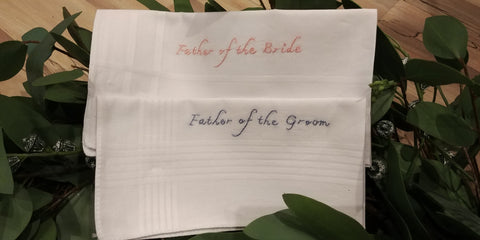 Father Of The Bride & Groom Hankies