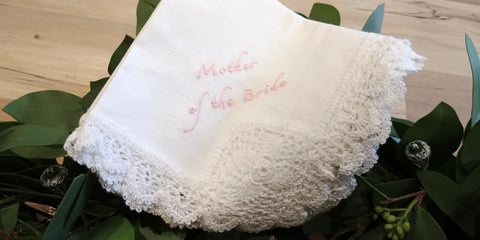 Mother of the Bride Hankie