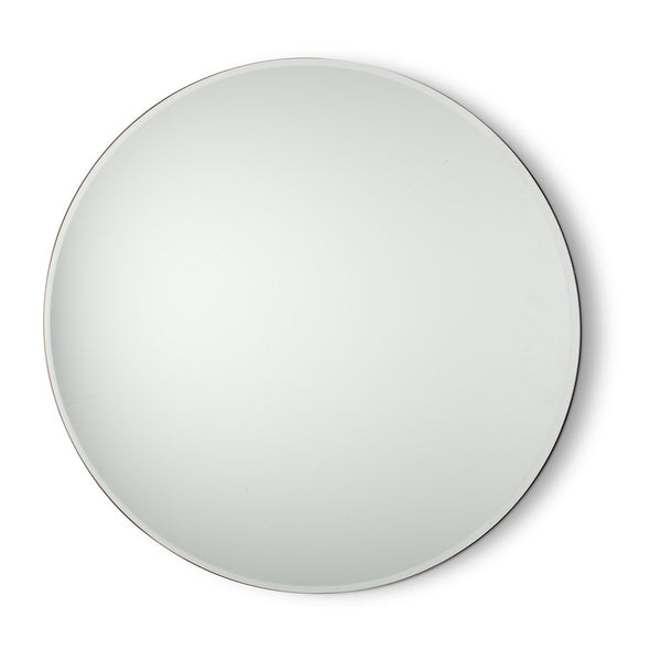 Large Round Floating Mirror