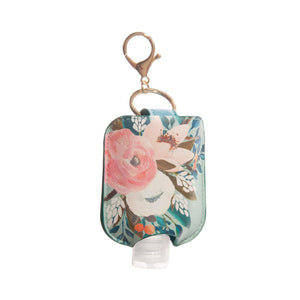 Floral Hand Sanitizer Holder