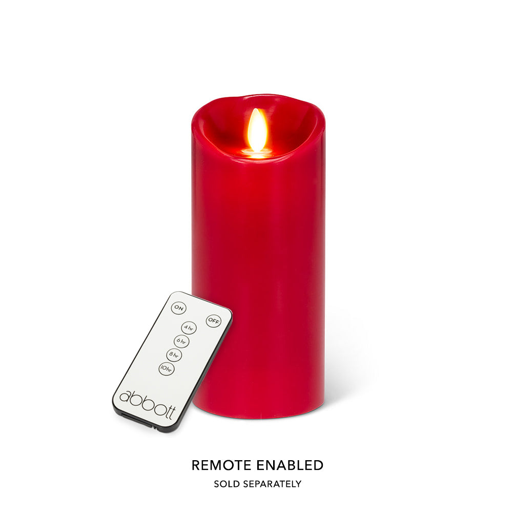 Reallite Battery Pillar Candle Large