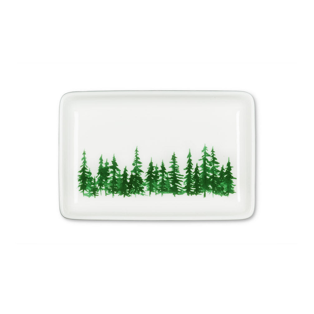 Woodland Ceramic Rectangle Dish