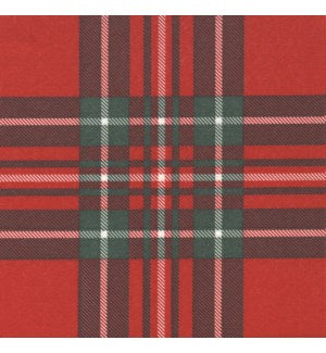 Paviot Plaid Paper Dinner Napkins