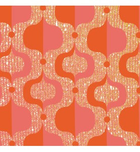 Paviot Nirvana Orange Dinner Paper Napkins