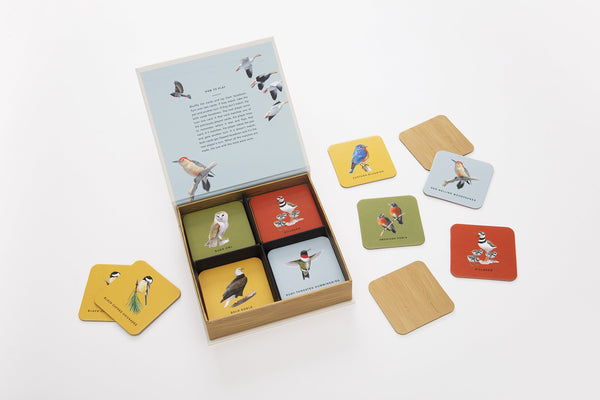 Sibley Backyard Birds Matching Game