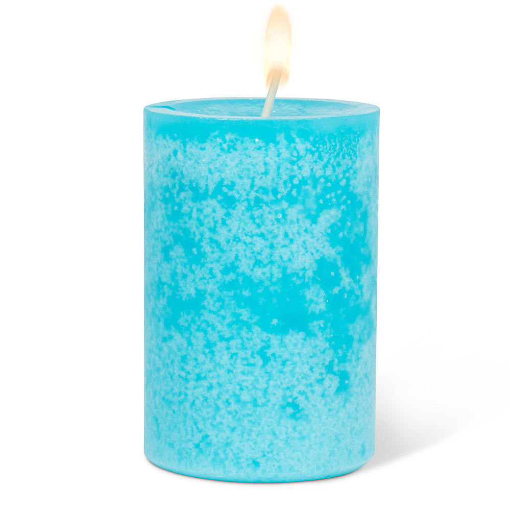 Small Pillar Candle - Blue
