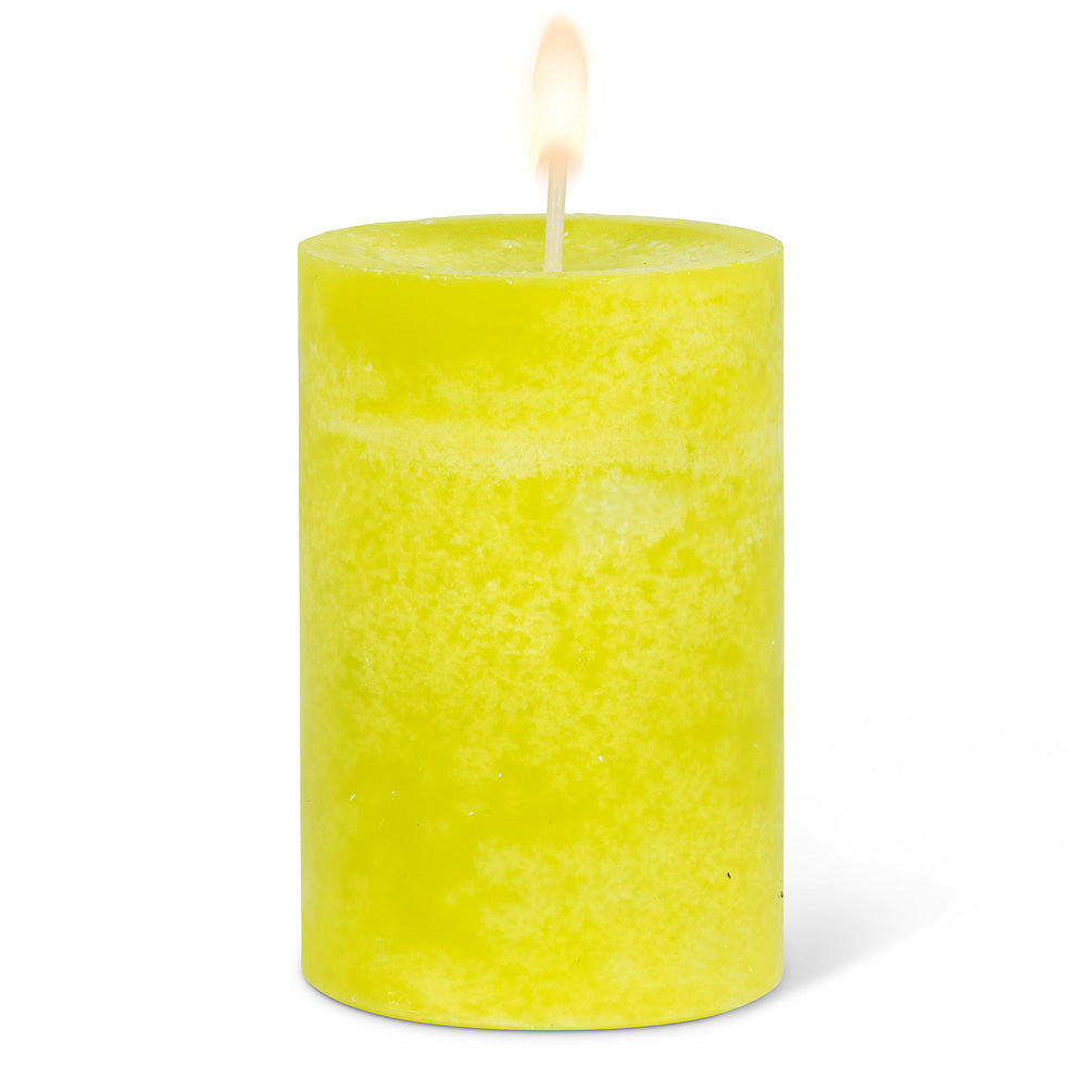 Small Pillar Candle - Green
