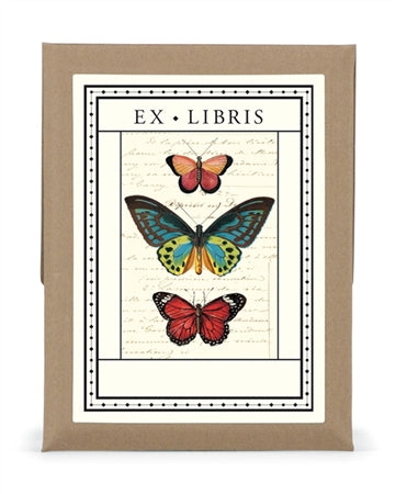 Bookplates - Vintage Butterflies