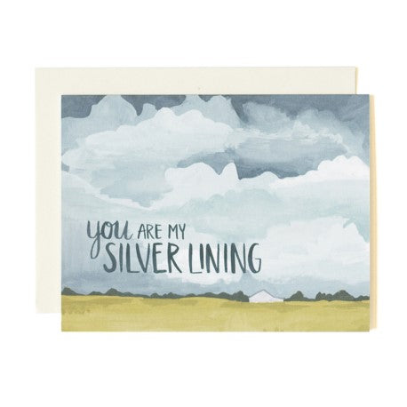 You Are My Silver Lining Card