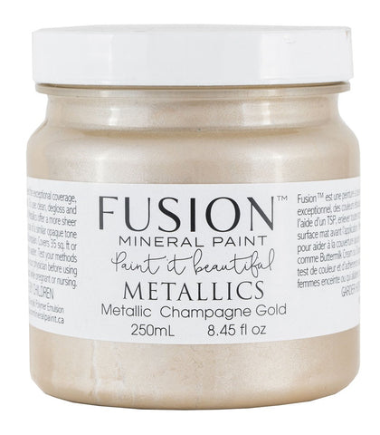 Fusion Paint Metallic Champagne Gold