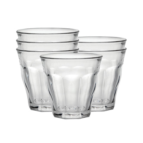 Set of 6 - French Duralex Glasses 10 7/8 oz.