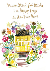 Happy Days  In Your New Home Greeting Card