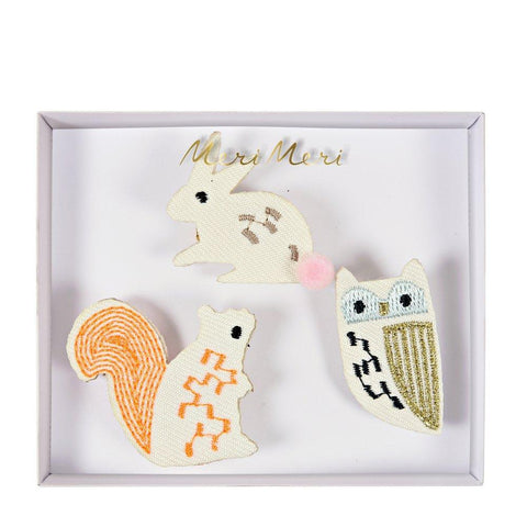 Meri Meri Woodland Creatures Brooches
