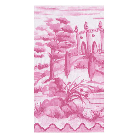 Pink Toile Paper Napkin