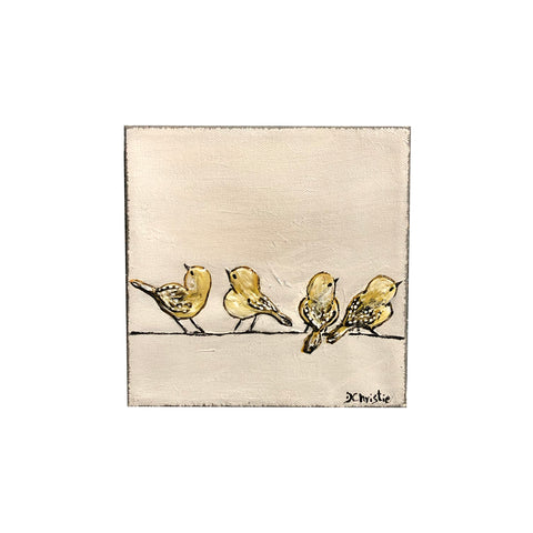 Original Art, Birds on a Wire Series - 3700