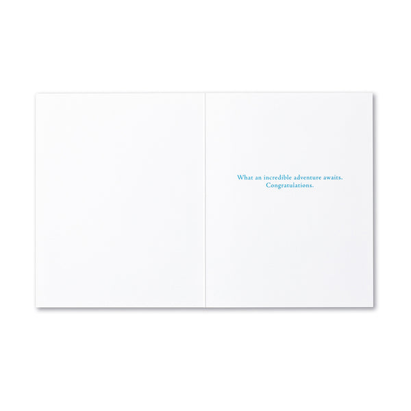 Go Forward Congratulations Greeting Card