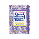 Internet Password Logbook - Mauve