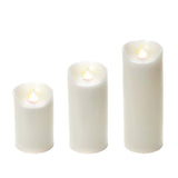Battery Operated Real Light Candle Large