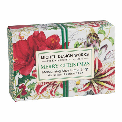 Merry Christmas Moisturizing Shea Butter Soap