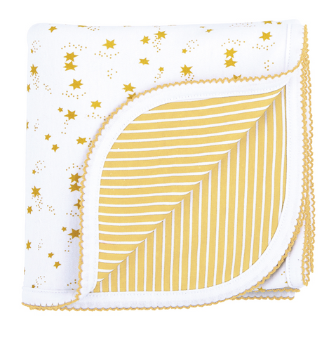 Adorable Yellow Reversible Blanket